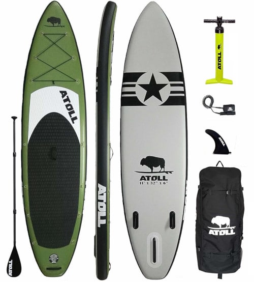 Atoll 11' Foot Inflatable Stand Up Paddle Board Review