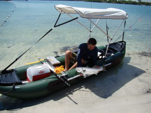 Best Inflatable Fishing Kayak Reviews