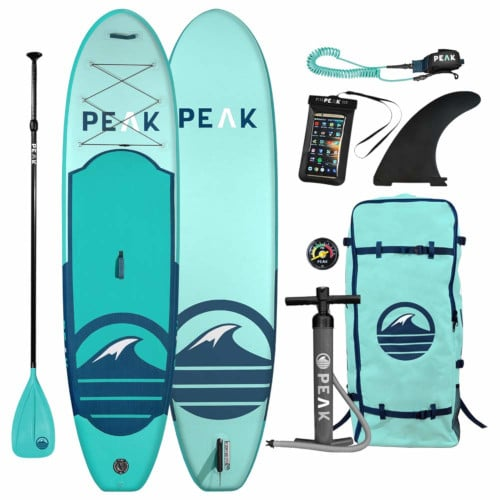 Peak All Around Inflatable Stand Up Paddle Board Review