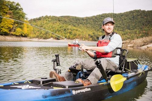 Perception Pescador Pilot 12 Pedal Drive Fishing Kayak Review