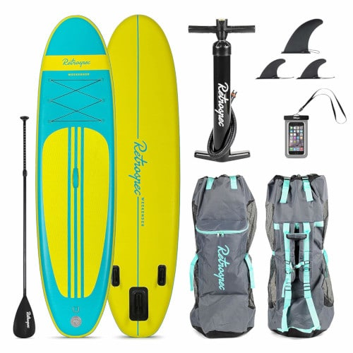 Retrospec Weekender Inflatable Stand Up Paddleboard Review