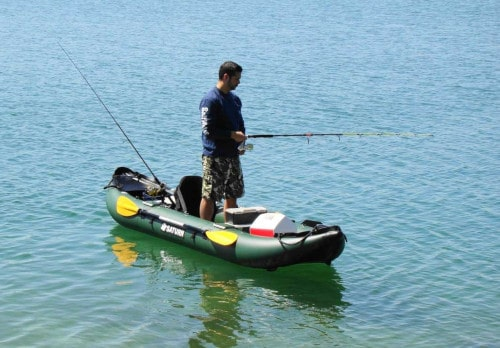 Saturn FK396 Inflatable Fishing Kayak Review