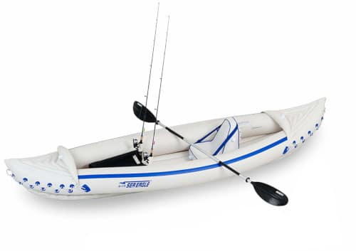 Sea Eagle SE370 Inflatable Fishing Kayak Review