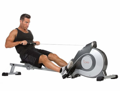 Sunny Health & Fitness Magnetic Rowing Machine