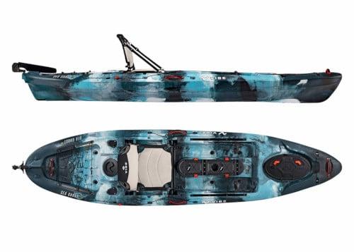 Sea Ghost 110 Fishing Kayak Review
