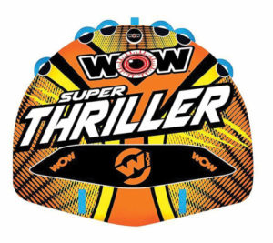 Wow Watersports Thriller Deck Tube Water Towable Tube