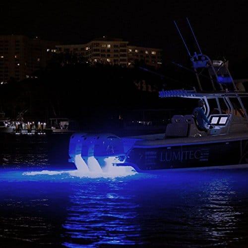 Lumitec SeaBlaze3 Blue /& White Underwater Anodized Aluminum Boat LED Light