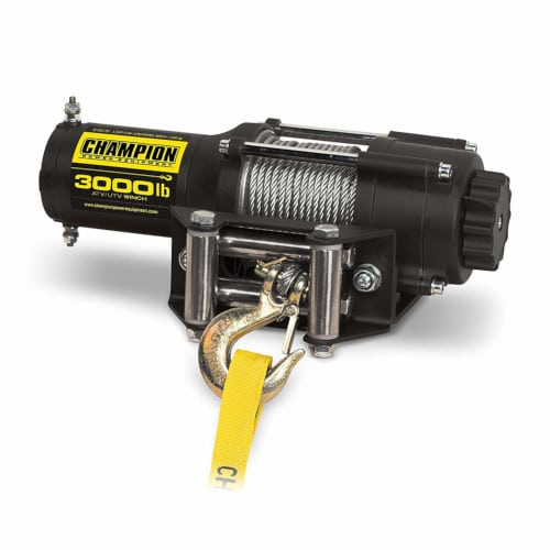 Champion 3000-lb Winch Kit Review