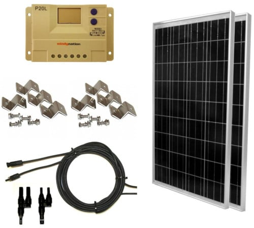 WindyNation Complete Off-Grid Solar Panel Boat Kit Review