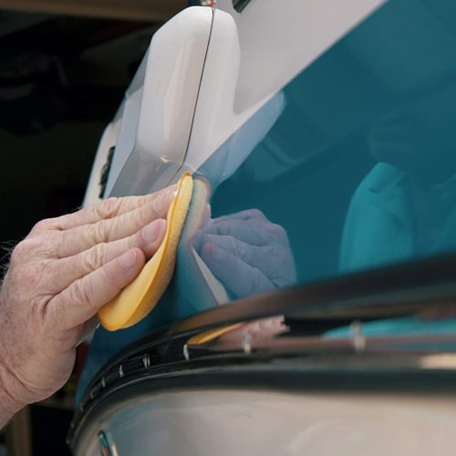 How to wax a boat Beginners